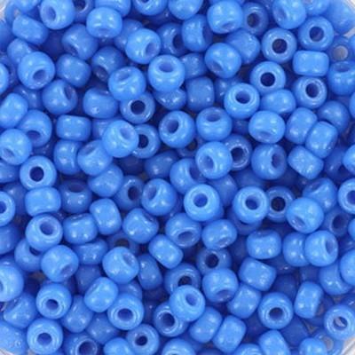 Miyuki round beads duracoat opaque delphinium 8/0 #8-4484