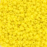 Miçangas Miyuki round opaque luster yellow 11/0 #11-422