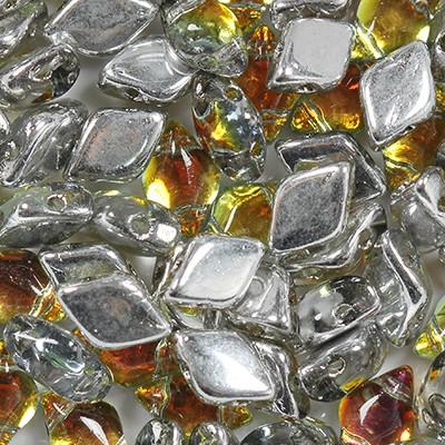 GemDuo perline tequila 8 x 5 mm