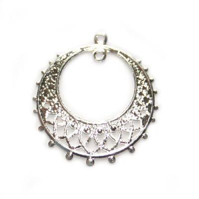 Zieranhänger Ring 2.5 cm