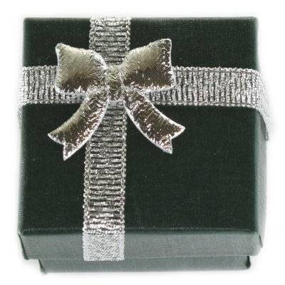 emballage à anneau vert 4 x 4 x 3 cm