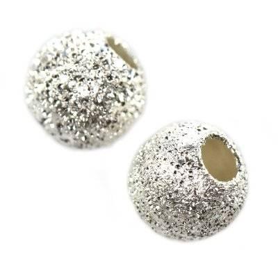 argent 925 petites boules 4 mm