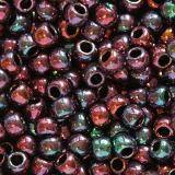 Toho beads round higher-metallic iris violet 2.2 mm TR-11-504