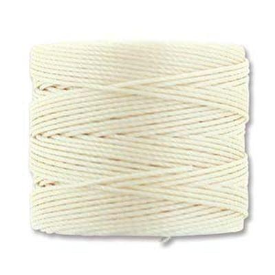 nici S-LON Tex 210 0.5 mm vanilla - nić do beadingu