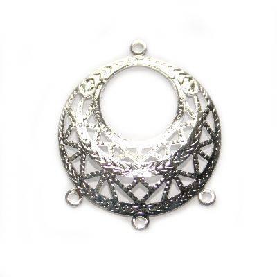 Zieranhänger Ring mit Höckern 2.5 cmm