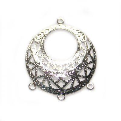 hanger sierkunstig cirkel met neusjes 2.5 cm