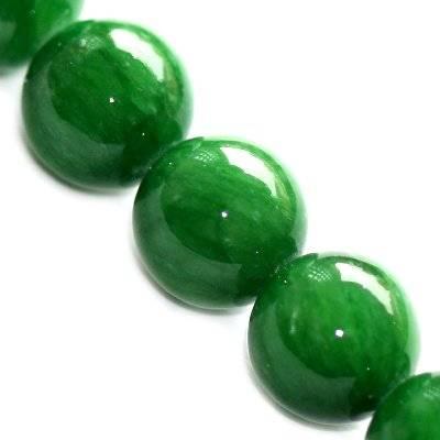 kule marmur zielony szklisty 8 mm kamień naturalny barwiony
