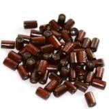 pałeczki drewniane ciemno-brązowe 8 x 4 mm