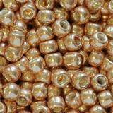 Toho round galvanized rose gold 3 mm TR-08-551