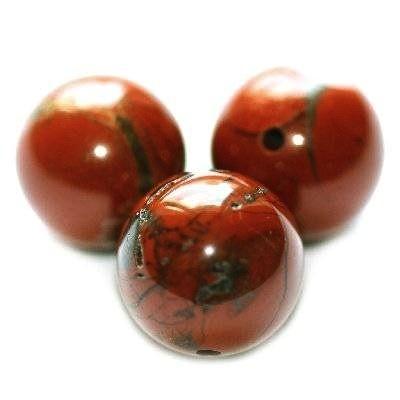 kugler rød jaspis 6 mm