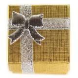 ring box gold 4 x 4 x 3 cm