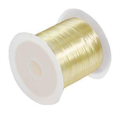 fil élastique miel 0.6 mm