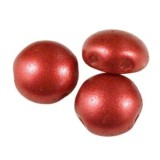 Preciosa Perlen Candy chalk lava red 8 mm