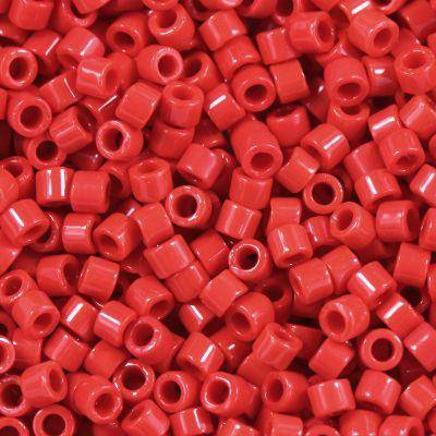 Miyuki Delica beads opaque red 1.6 x 1.3 mm DB-723