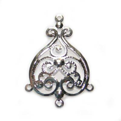 pingente decorativo dama pik 3.5 cm