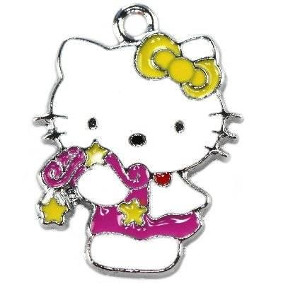 charms pendants cute kitty 26 x 20 mm