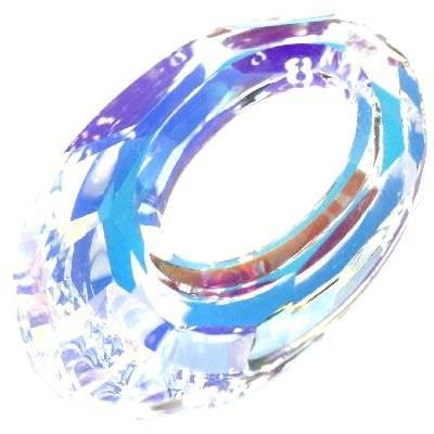 Swarovski helios pendants crystal ab 20 mm