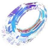 Swarovski helios pendants crystal ab 20 mm