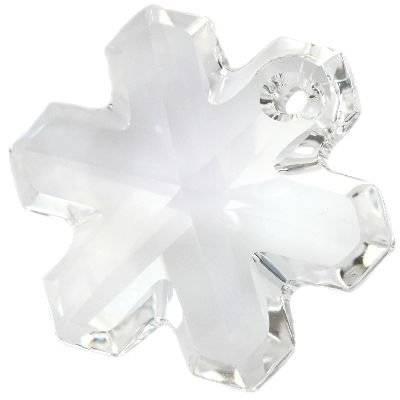 Swarovski snowflake pendants crystal 20 mm