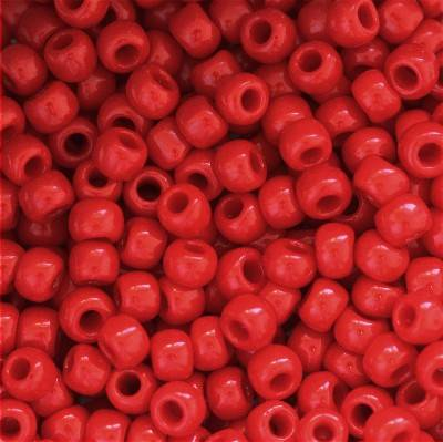 Toho korálky round opaque pepper red 2 mm TR-11-45