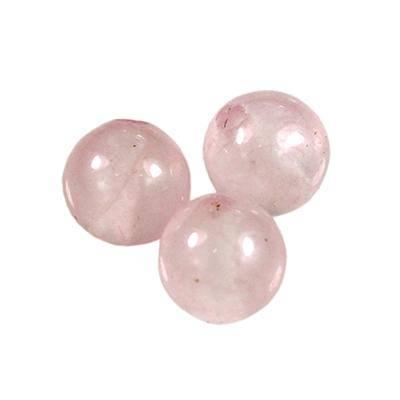 round rose quartz 4 mm