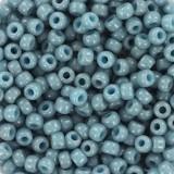 Perline Miyuki round duracoat opaque moody blue 8/0 #8-4479