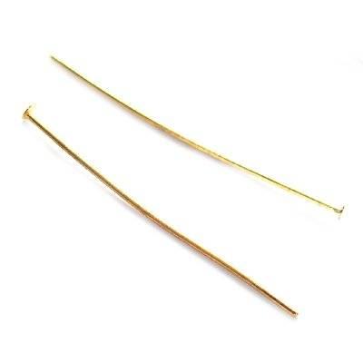 alfinetes pregos 3.8 cm cor amarela