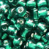 perles de graine de verre de 3,5 mm d'azur