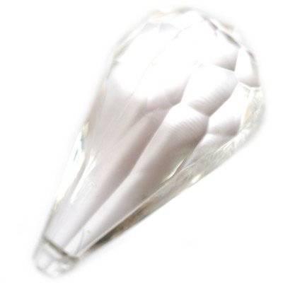 gocce d'acqua in plastica trasparenti 26 x 50 mm
