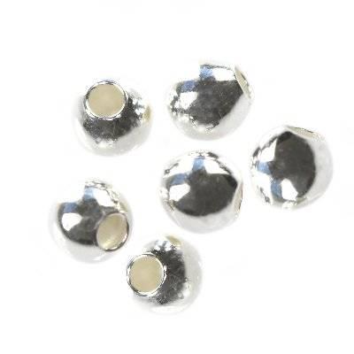 srebro 925 kuleczki zaciskowe 2.5 mm