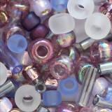 koraliki Toho multi-shape/color mix kimono- lilac mix 2 – 4 mm TX-01-3216