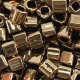 Toho beads cube bronze 3 mm TC-03-221