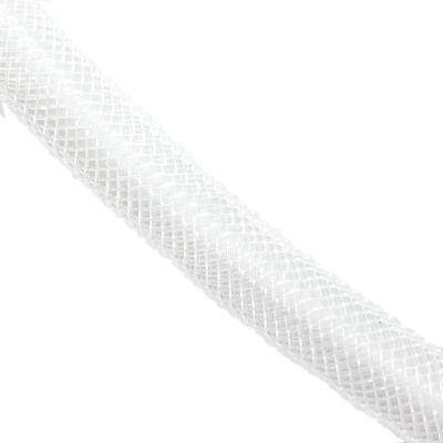 tube de maille blanches 8 mm