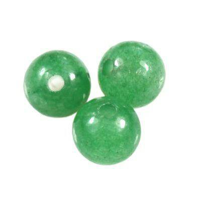 green aventurine beads 4 mm / semi-precious stone