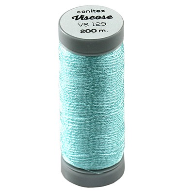 conitex™ viscose thread blue / rayon - embroidery thread