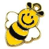 charms pendants bee 23 x 18 mm