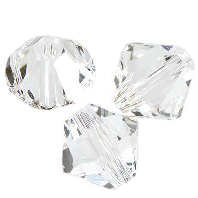 Swarovski bicone beads crystal 4 mm