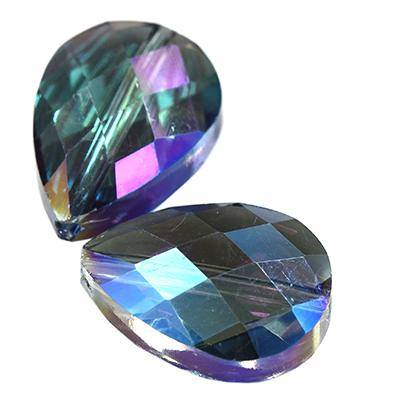 cristalli goccia ab 13 x 18 mm