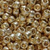 koraliki Toho round permafinish - galvanized starlight 3 mm TR-08-PF557
