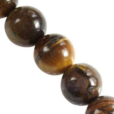 tygrysie oko 4 mm kamień półszlachetny naturalny