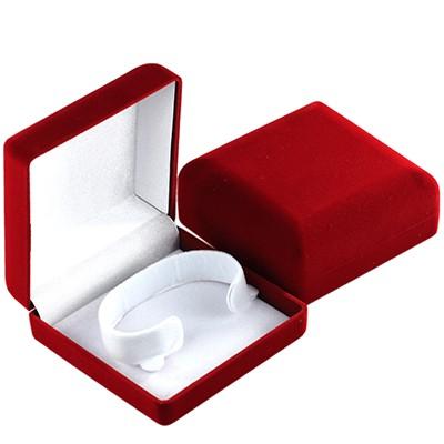 pudełko materiałowe na bransoletkę 9 x 9 x 3.8