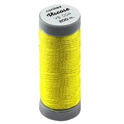 nici wiskozowe conitex™ żółta / nić do haftu