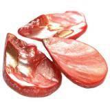 masa perłowa łezki czerwone 2.5-4 cm