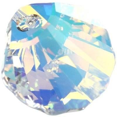 Swarovski seashell pendants crystal ab 16 mm