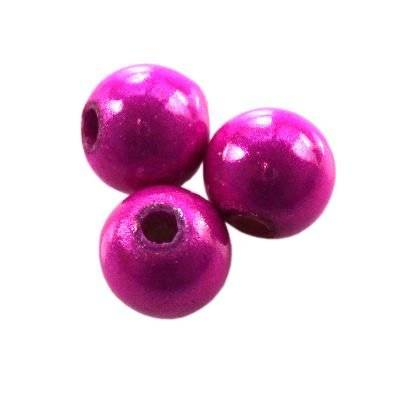 miracle pink beads 6 mm