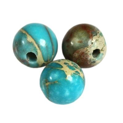 imperial jasper beads azure 4 mm dyed natural stone/ semi-precious stone dyed