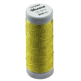 conitex™ viscose thread cold gold / rayon - embroidery thread
