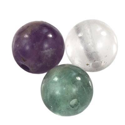 round beads fluorite 8 mm