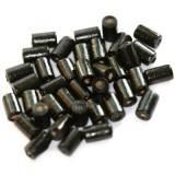 bâtons en bois noirs 10 x 6 mm