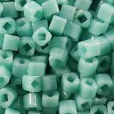 koraliki Toho cube opaque turquoise 1.5 mm TC-01-55